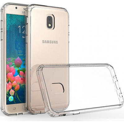 Θήκη Σιλικόνης για Samsung J3 2017 J330 Διάφανη