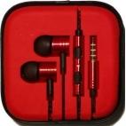 Ακουστικά Pistons 3.5mm Με Μικρόφωνο Κόκκινα