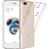 Θήκη Σιλικόνης για Xiaomi Mi A1/Mi 5X Διάφανη