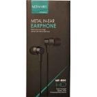 Ακουστικά Μαγνητικά Mofan MF-004 3.5mm Με Μικρόφωνο Μαύρα