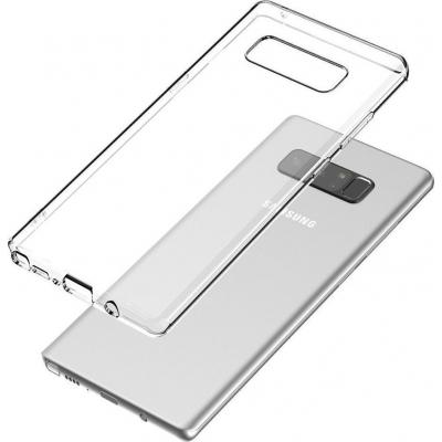 Θήκη Σιλικόνης για Samsung Note 8 Διάφανη