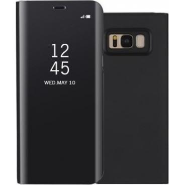 Θήκη Clear View για Samsung S8+ Μαύρη
