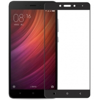 Full Cover Tempered Glass για Xiaomi Redmi Note 4 Μαύρο