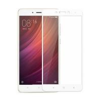 Full Cover Tempered Glass για Xiaomi Redmi Note 4x Λευκό
