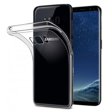 Θήκη Σιλικόνης για Samsung S8 Διάφανη