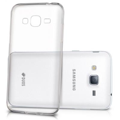 Θήκη Σιλικόνης για Samsung J3 2016 J320 Διάφανη