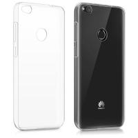 Θήκη Σιλικόνης για Huawei P8 Lite/P9 Lite 2017 Διάφανη