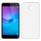 Θήκη Σιλικόνης για Huawei Y6 2017 Διάφανη