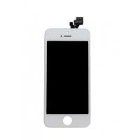 Συναρμολογημένη οθόνη   για iPhone 5S Λευκό
