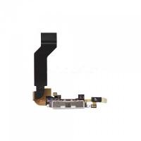 Flex φόρτισης για iPhone 4 Μαύρο (Charging port dock)