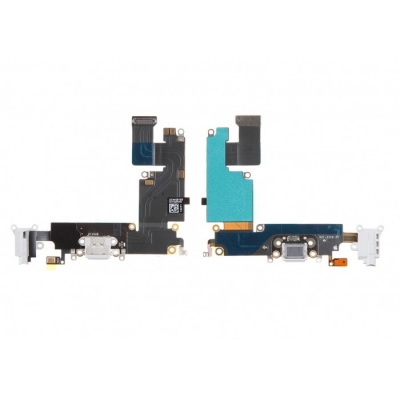 Flex φόρτισης/ακουστικών για iPhone 6 Plus Λευκό