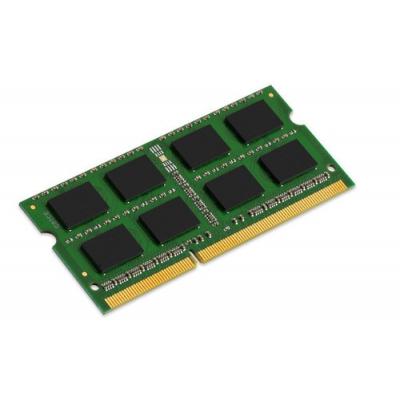 KINGSTON Memory KVR16S11S8/4, DDR3 SODIMM, 1600MHz, Single Rank, 4GB