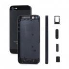 Πίσω κάλυμα/καπάκι για iPhone 5 Μαύρο