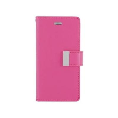 Θήκη Mercury/Goospery Rich Diary για iPhone 6/6S Ροζ