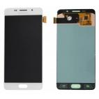 Γνήσια Οθόνη με Μηχανισμό Αφής Για Samsung Galaxy A5 SM-A510F 2016 Λευκό GH97-18250A