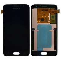 Οθόνη με Μηχανισμό Αφής Για Samsung J1 SM-J120F 2016 Μαύρο GH97-18224C