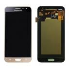 Γνήσια Οθόνη με Μηχανισμό Αφής Για Samsung J3 SM-J320F 2016 Χρυσό GH97-18414B