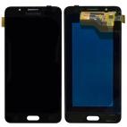 Γνήσια Οθόνη με Μηχανισμό Αφής Για Samsung J5 SM-J510F 2016 Μαύρο GH97-18792B