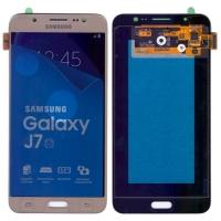 Οθόνη με Μηχανισμό Αφής Για Samsung J7 SM-J710F 2016 Χρυσό GH97-18855A