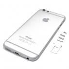 Πίσω Κάλυμμα/Back Cover Για iPhone 6S Silver