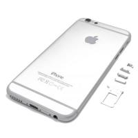 Πίσω Καπάκι/Back Cover Για iPhone 6S Plus Silver