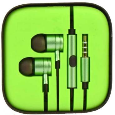 Ακουστικά Pistons 3.5mm Με Μικρόφωνο Πράσινα