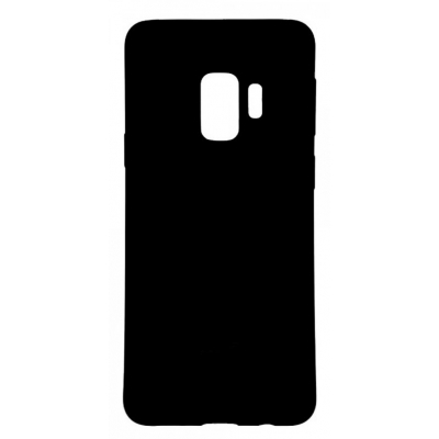 Θήκη Σιλικόνης για Samsung S9+ G965F Μαύρη