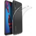 Θήκη Σιλικόνης για Huawei P20 Διάφανη