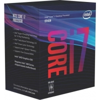 Intel Core i7-8700K 3,70Ghz Box, BX80684I78700K