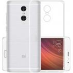 Θήκη Σιλικόνης για Xiaomi Redmi 5 Plus Διάφανη