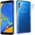Θήκη Σιλικόνης για Samsung A7 2018 A750 Διάφανη