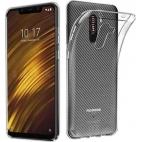 Θήκη Σιλικόνης για Xiaomi Pocophone F1 Διάφανη