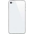 Πίσω καπάκι/Back cover για iPhone 4 Λευκό χωρίς Λογότυπο