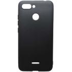 Θήκη Σιλικόνης Matte για Xiaomi Redmi 6 Μαύρη