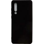 Θήκη Σιλικόνης για Samsung A50 A505 Matt Μαύρη