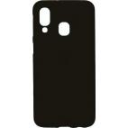 Θήκη Σιλικόνης για Samsung A40 A405 Matt Μαύρη