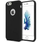 Θήκη Hard Σιλικόνης για iPhone 7/8 Μαύρη