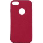 Θήκη Hard Σιλικόνης για iPhone 7/8 Κόκκινη