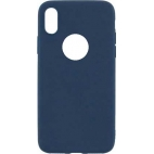 Θήκη Hard Σιλικόνης για iPhone X/XS Μπλε
