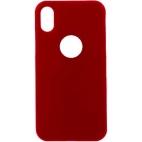 Θήκη Hard Σιλικόνης για iPhone X/XS Κόκκινη