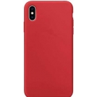 Θήκη Σιλικόνης Silky Soft Touch για iPhone XR Κόκκινη