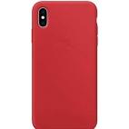 Θήκη Σιλικόνης Silky Soft Touch για iPhone XS Max Κόκκινη