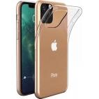 Θήκη Σιλικόνης για iPhone 11 Pro Max Διάφανη