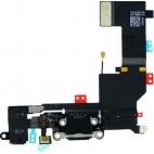 Flex θύρας φόρτισης/ακουστικων (Charging Port) για iPhone 5s Μαύρο