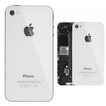 Πίσω καπάκι/Back cover για iPhone 4 Λευκό