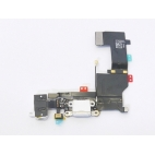 Flex θύρας φόρτισης/ακουστικων (Charging Port) για iPhone 5s Λευκό