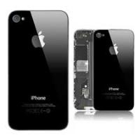 Πίσω Καπάκι cover backplate για iPhone 4 Μαύρο
