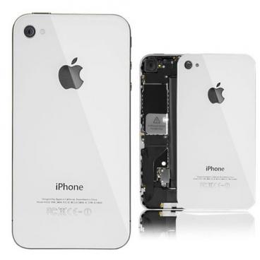 Πίσω Καπάκι/Back cover για iPhone 4s Λευκό