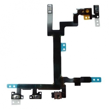 Καλωδιοταινία Power flex On-Off/Audio Buttons για iPhone 5