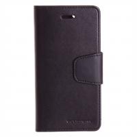 Θήκη Mercury/Goospery Sonata Diary case για iPhone 6/6S Μαύρη